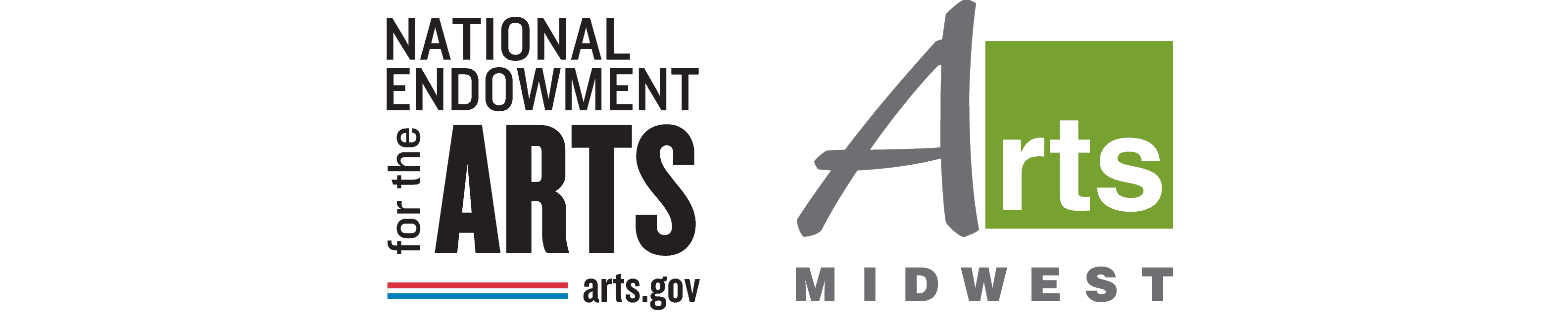 NEA and Arts Midwest Logo