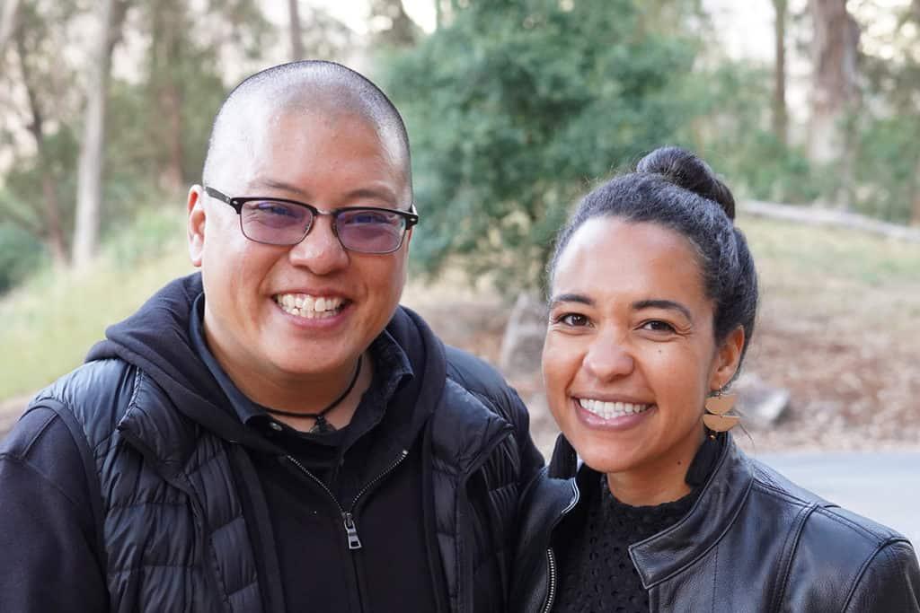 Eric Ting and Sarah Williams